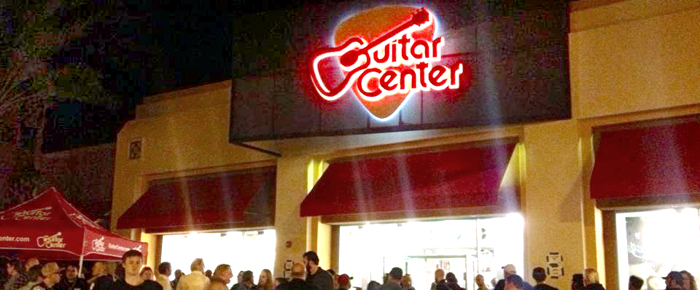 guitar center s grand opening coachella valley weekly. Black Bedroom Furniture Sets. Home Design Ideas