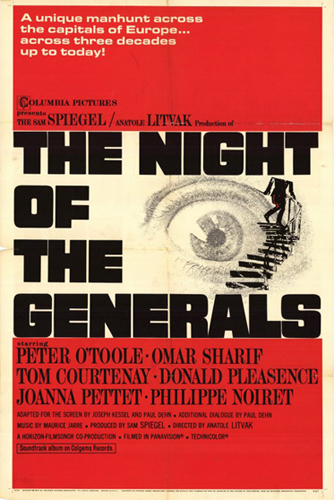 Night of the Generals poster 1967