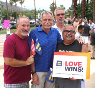 George Padilla-right- AIDS Project LA