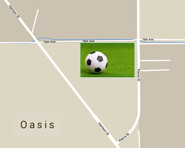 Oasis Soccer Map