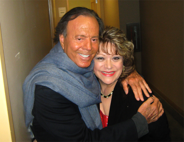 Julio Iglesias and Lola Rossi