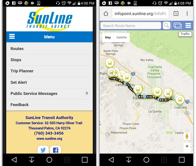SunBus Tracker