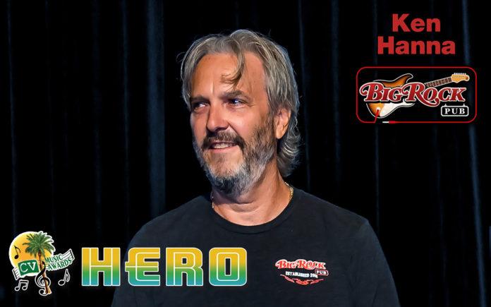 Cv Music Awards Hero Ken Hanna Owner Of Big Rock Pub