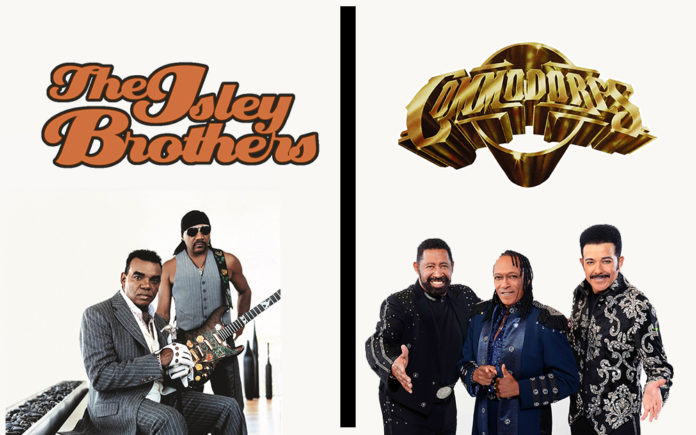 THE ISLEY BROTHERS AND THE COMMODORES BRING THEIR GREATEST