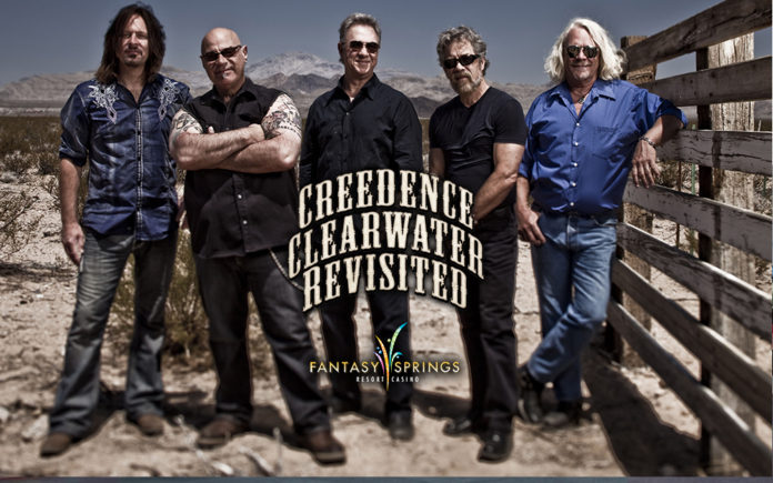 CREEDENCE CLEARWATER REVISITED WILL SING THE SONGS OF A GENERATION