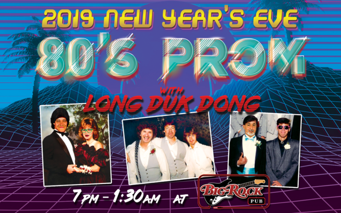 A Totally Rad New Year's Eve at Big Rock's 80's Neon Prom with Long