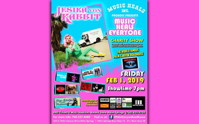 Music Heals Everyone Charity Show | Coachella Valley Weekly