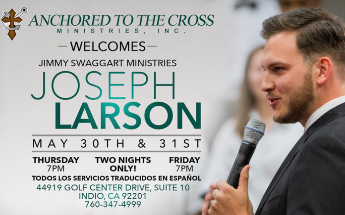 Joseph Larson Returns to the Coachella Valley | Coachella