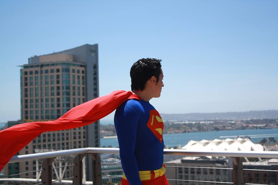 comiccon superman