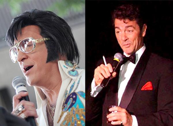 Raymond Michael as Elvis Presley