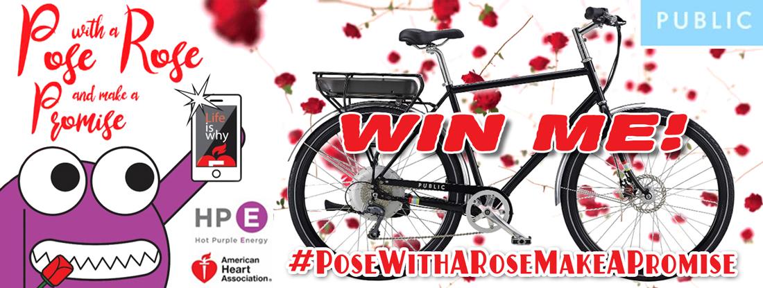 posewitharose-bike